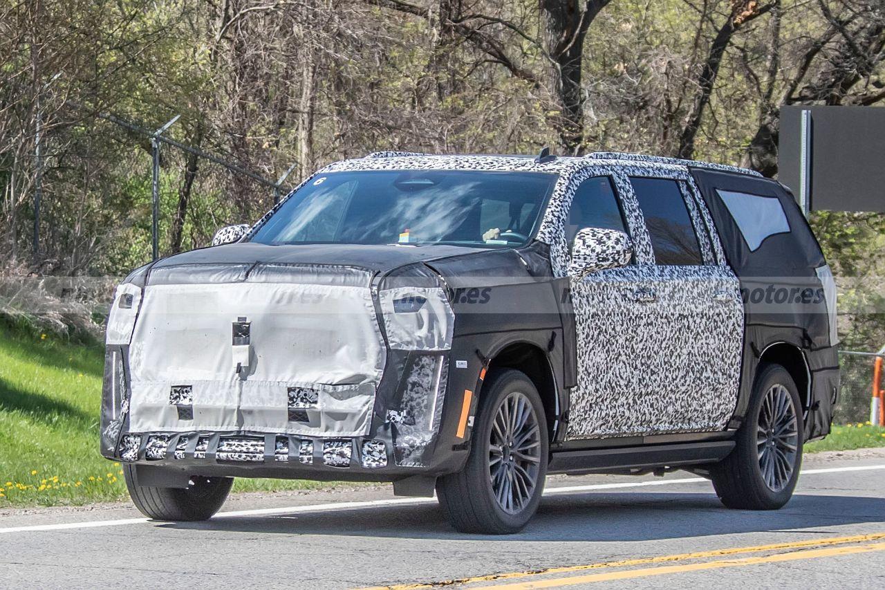 Primeras imágenes del nuevo Cadillac Escalade V-Series durante sus pruebas