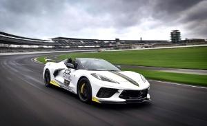 El Chevrolet Corvette Stingray se convierte en el 105º Pace Car de la Indy 500