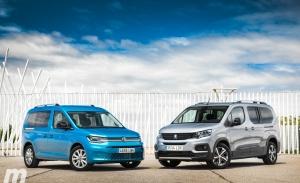 Comparativa Peugeot Rifter vs Volkswagen Caddy, diferencias insalvables (Con vídeo)