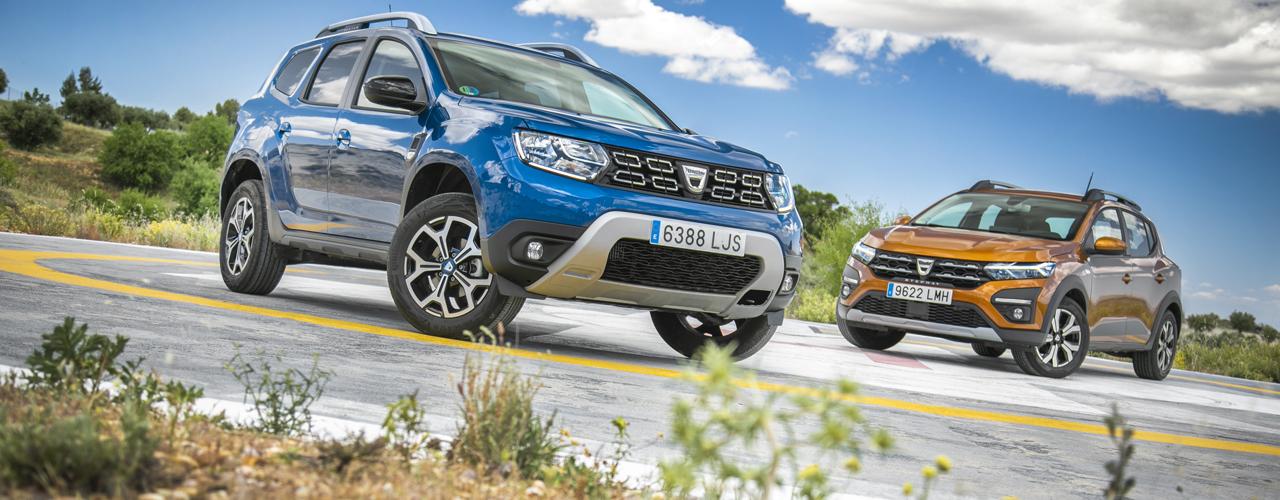 Prueba comparativa Dacia Duster vs Dacia Sandero Stepway (con vídeo)