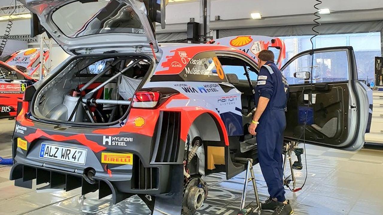 Elfyn Evans marca la pauta en el shakedown del Rally de Portugal
