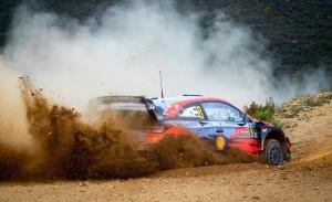 El estonio Ott Tänak da un golpe en la mesa del Rally de Portugal