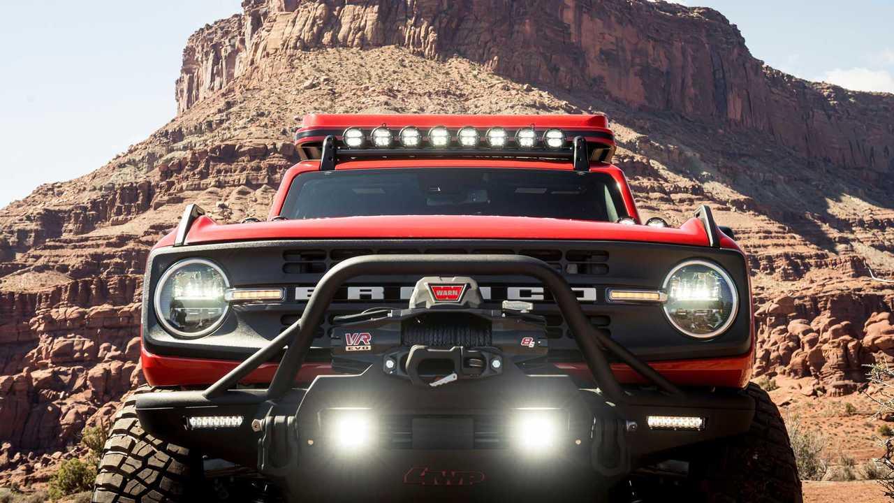 El Ford Bronco 2021 ha resultado ser más potente de lo anunciado