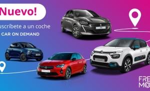 """Free2Move amplía su oferta de alquileres flexibles y todo incluido con """"Car On Demand"""""""