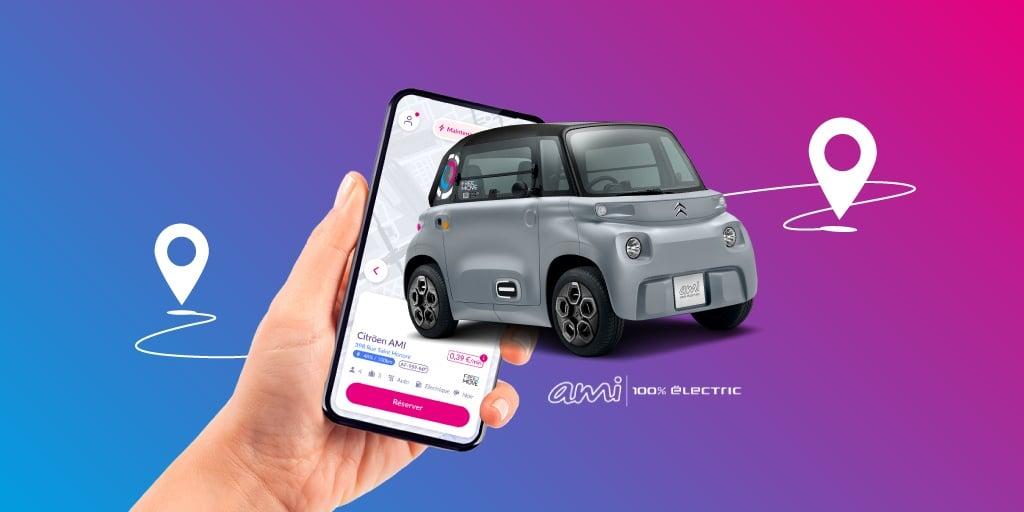 Free2Move añade al Citroën Ami a su flota en Madrid