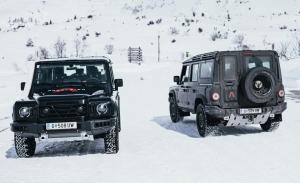 Los prototipos del INEOS Grenadier se enfrentan a duras pruebas en los Alpes [Vídeo]
