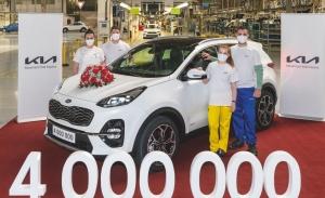 La planta de KIA en Eslovaquia alcanza un nuevo récord de producción