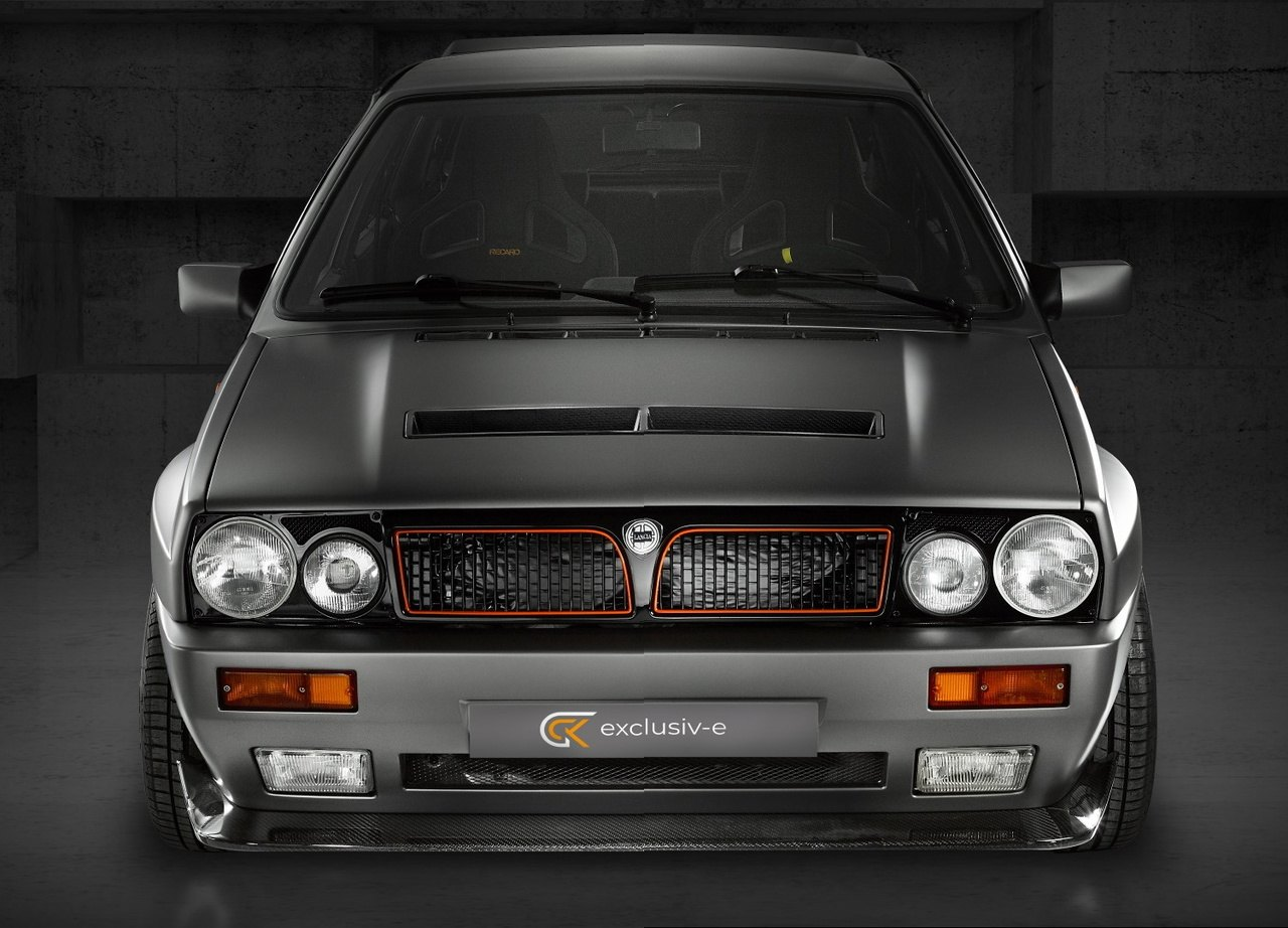 El Lancia Delta Integrale renace como un tecnológico deportivo 100% eléctrico