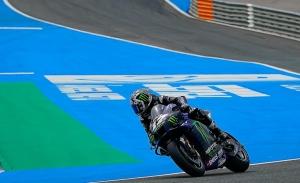 Maverick Viñales manda en la jornada de test de MotoGP en Jerez