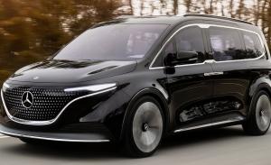 Mercedes Concept EQT, la antesala de una nueva furgoneta 100% eléctrica