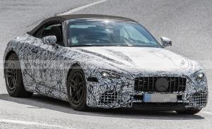 El desarrollo del nuevo Mercedes SL 2022 se traslada al sur de Europa
