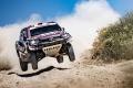 Al-Attiyah y Barreda se anotan la tercera etapa del Andalucía Rally