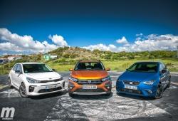 Comparativa Dacia Sandero, SEAT Ibiza y KIA Rio, ¿quién da más? (con vídeo)
