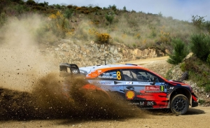 Ott Tänak coge el relevo de Dani Sordo al frente del Rally de Portugal