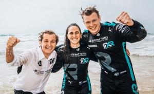 Paso firme de Johan Kristoffersson y Molly Taylor al frente de Extreme E