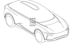 El super-SUV de Pininfarina filtrado al completo por sus bocetos de patente