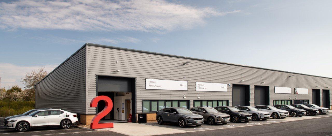 Foto centro de pruebas de conducción de Polestar en Milton Keynes