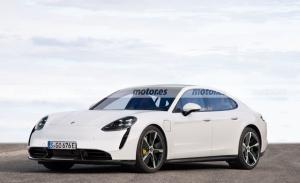 Primer adelanto del futuro Porsche Panamera 2024, la berlina deportiva eléctrica