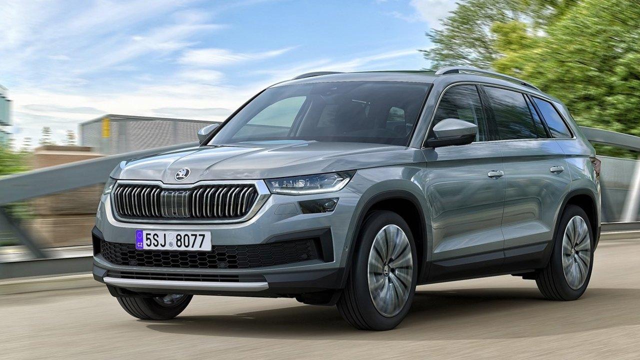 Precios del nuevo Skoda Kodiaq 2021, el renovado SUV de 7 plazas llega a España