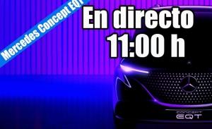 Sigue en directo la presentación mundial del Mercedes Concept EQT