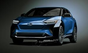 Primeras recreaciones del Subaru Solterra, el primer SUV 100% eléctrico de Subaru
