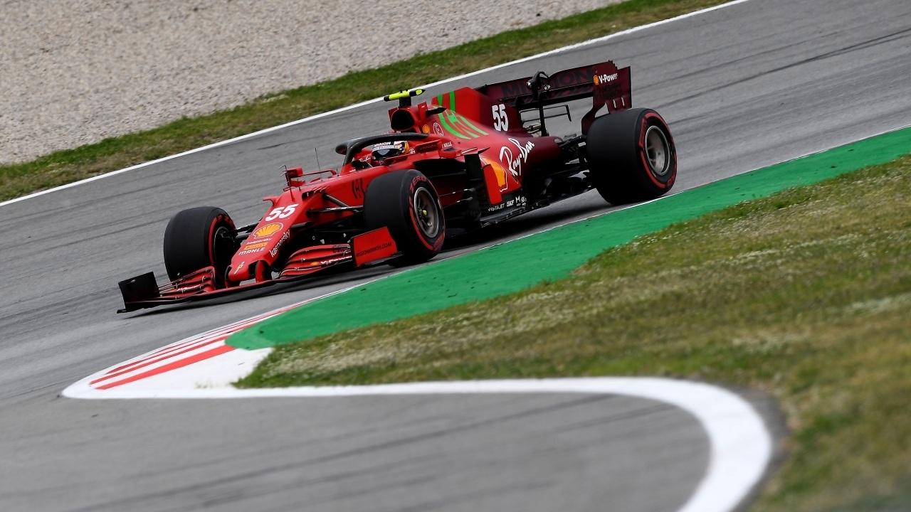 Sainz señala el punto débil del Ferrari SF21 y ya no tiene arreglo