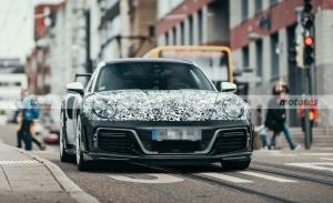 Primeras fotos espía del nuevo TechART GTstreet, el Porsche 911 Turbo S mas radical
