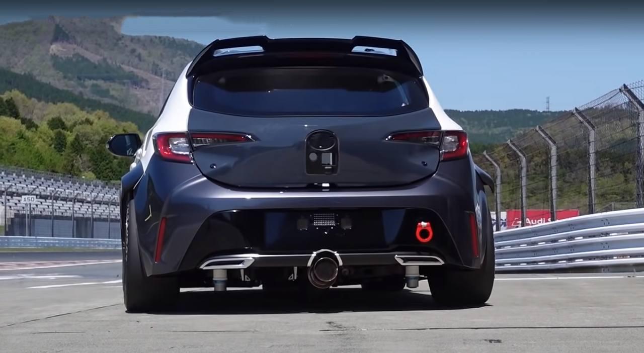 Así suena el Toyota Corolla Sport propulsado por un motor de combustión de hidrógeno