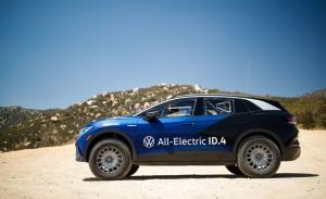 El Volkswagen ID.4 logra llegar a meta en la complicada NORRA Mexican 1000