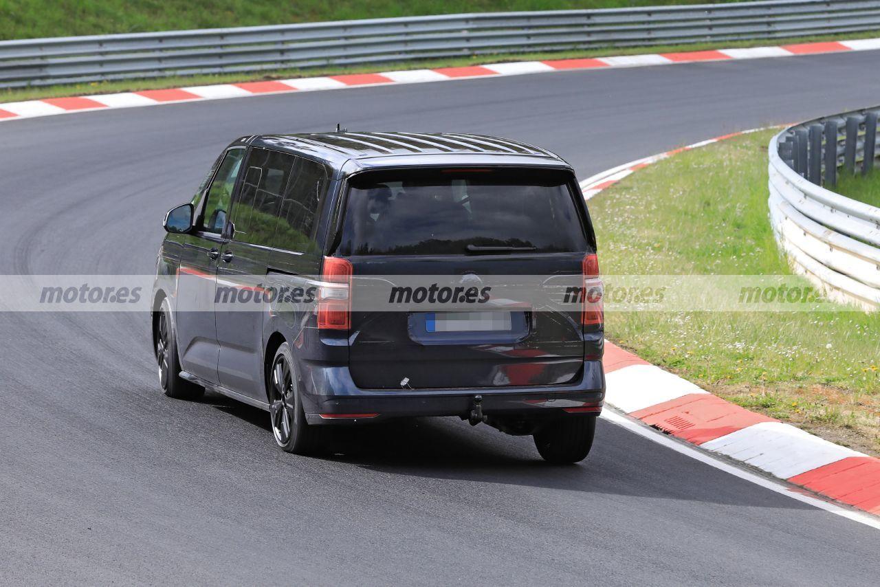 Foto espía Volkswagen Multivan 2022 - exterior