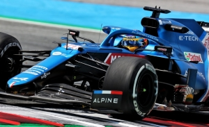 Alonso, top 5 en el primer día en Austria: «El coche funcionó bien de inmediato»