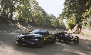 El Aston Martin Vantage Roadster rinde homenaje al modelo más antiguo de la firma