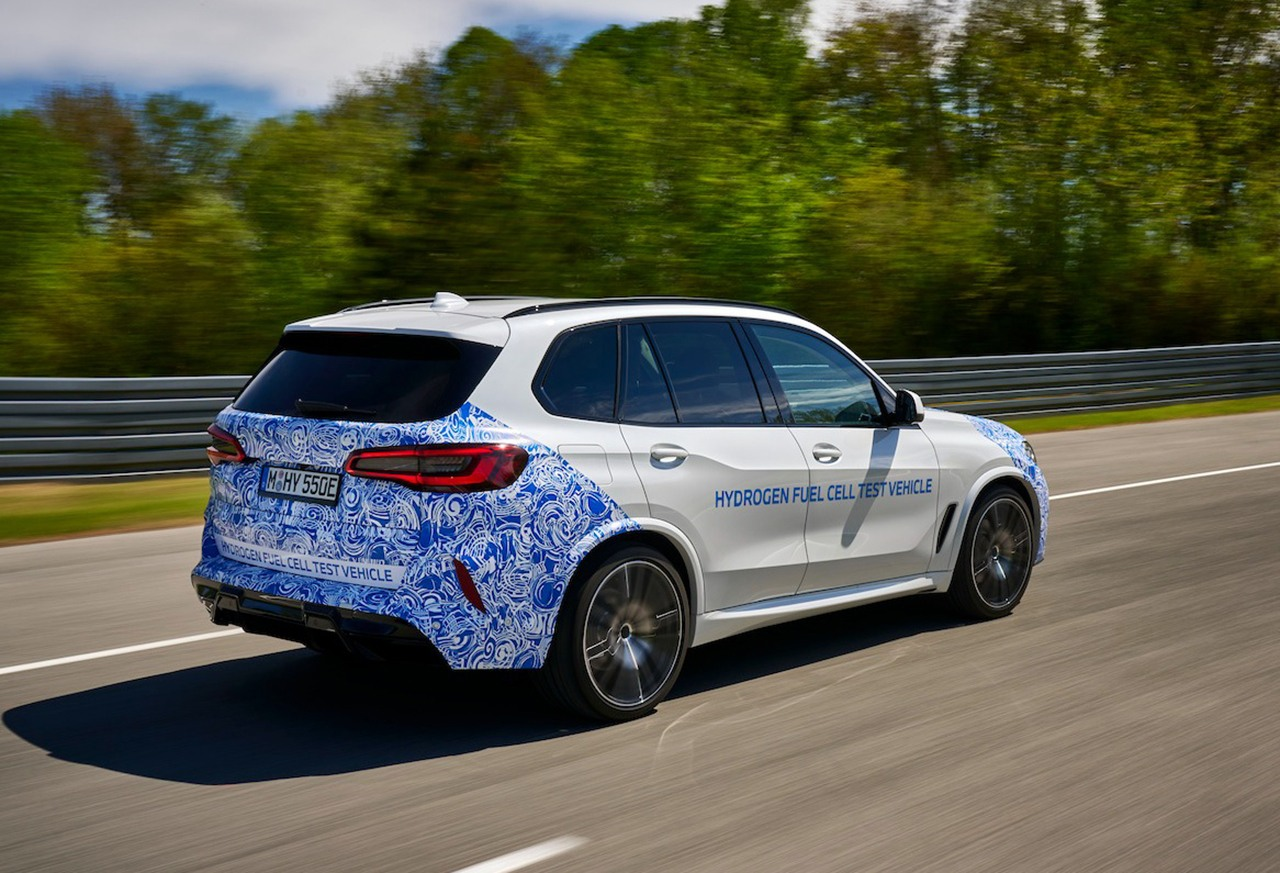 Foto BMW i Hydrogen NEXT X5 - exterior