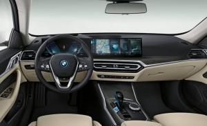 El tecnológico interior del nuevo BMW i4 filtrado por completo