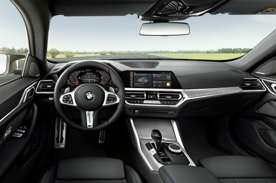 Foto BMW Serie 4 Gran Coupé 2022 - interior