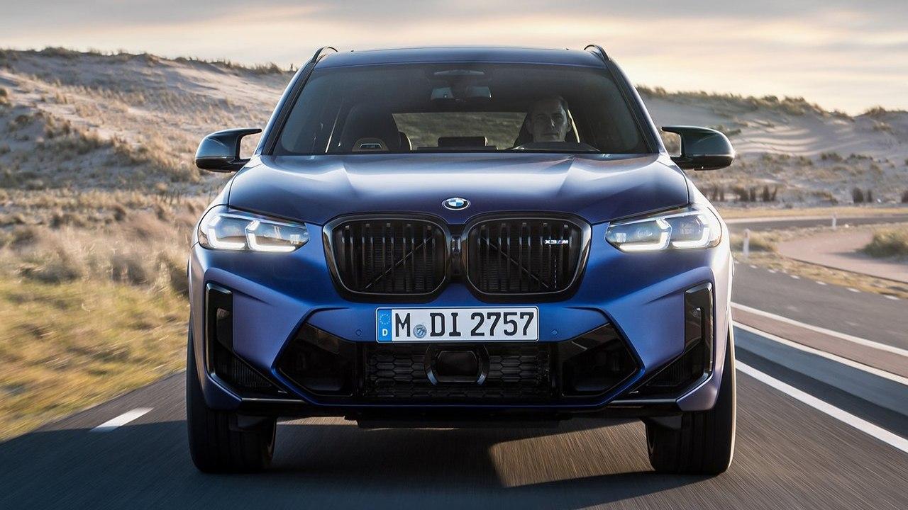 BMW X3 M 2022 - frontal