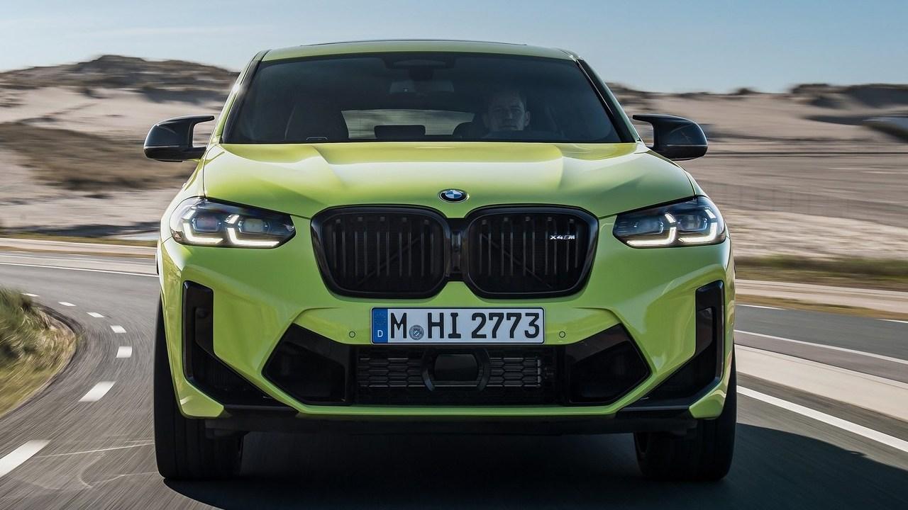 BMW X4 M 2022 - frontal