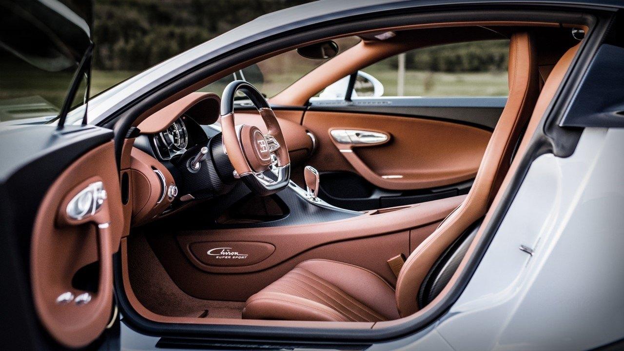 Foto Bugatti Chiron Super Sport - interior