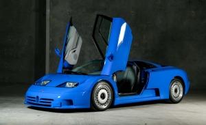 Uno de los prototipos originales del Bugatti EB110 aparece la venta casi a estrenar