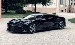 Estas son las primeras imágenes del Bugatti La Voiture Noire único y definitivo