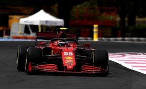 Sainz, líder de Ferrari en Paul Ricard: «Noto que desde Mónaco he ido muy rápido»