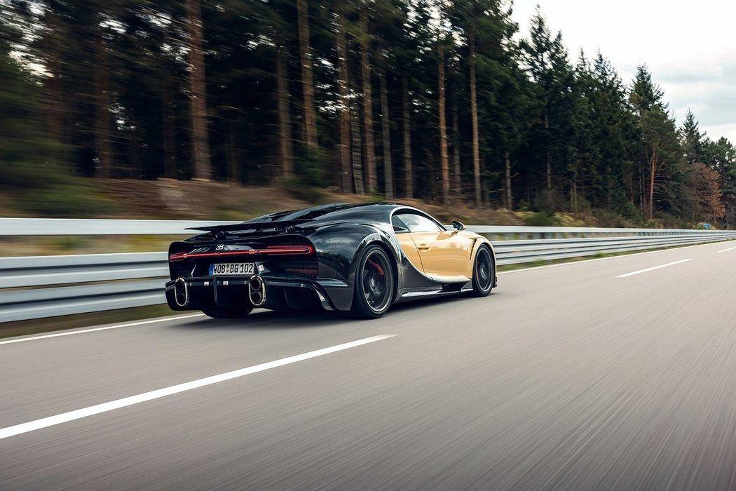 Foto Prototipo Bugatti Chiron Super Sport