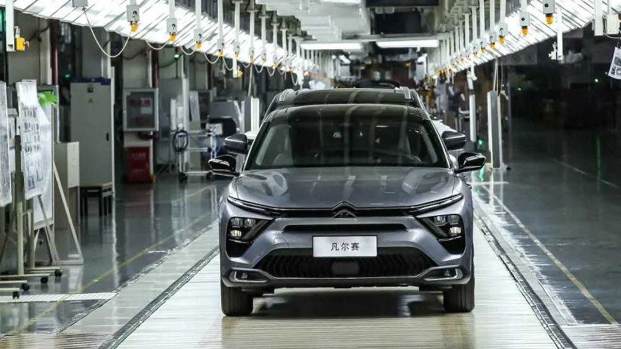 El nuevo Citroën C5 X ya está siendo producido en la lejana China