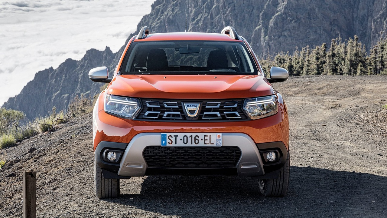 Dacia Duster 2022 - frontal