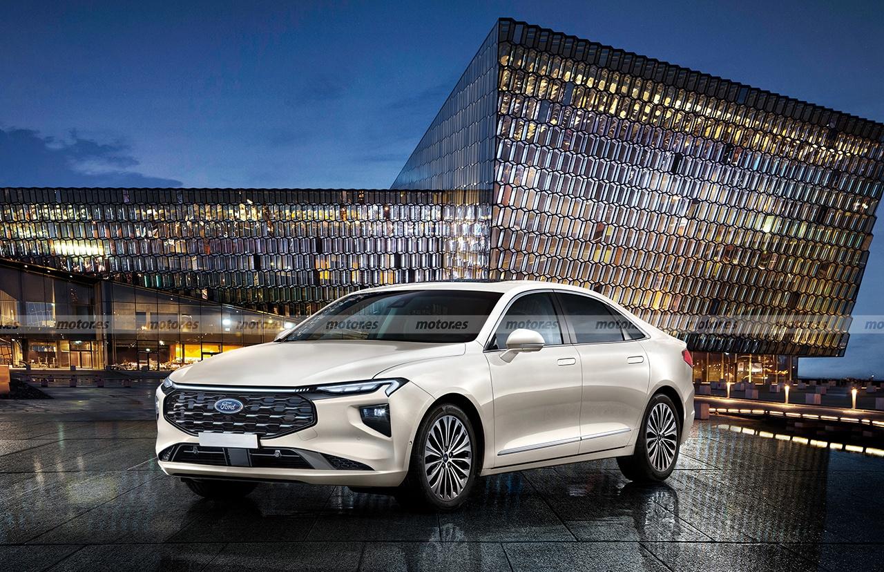 Adelanto del futuro Ford Mondeo Evos 2023, una revolucionaria berlina para Europa