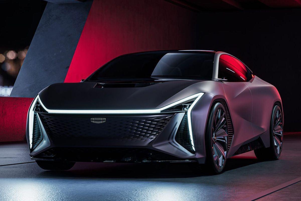 Geely Vision Starburst concept, el futuro estilo de diseño de la marca china