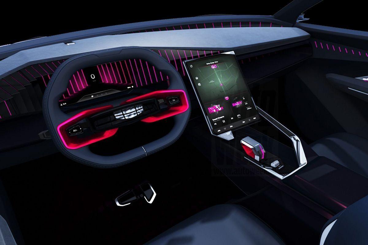Foto Geely Vision Starburst concept - interior