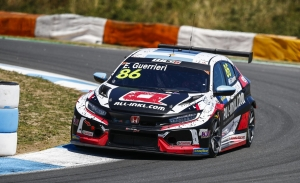 Honda 'despierta' y Esteban Guerrieri logra la pole del WTCR en Estoril