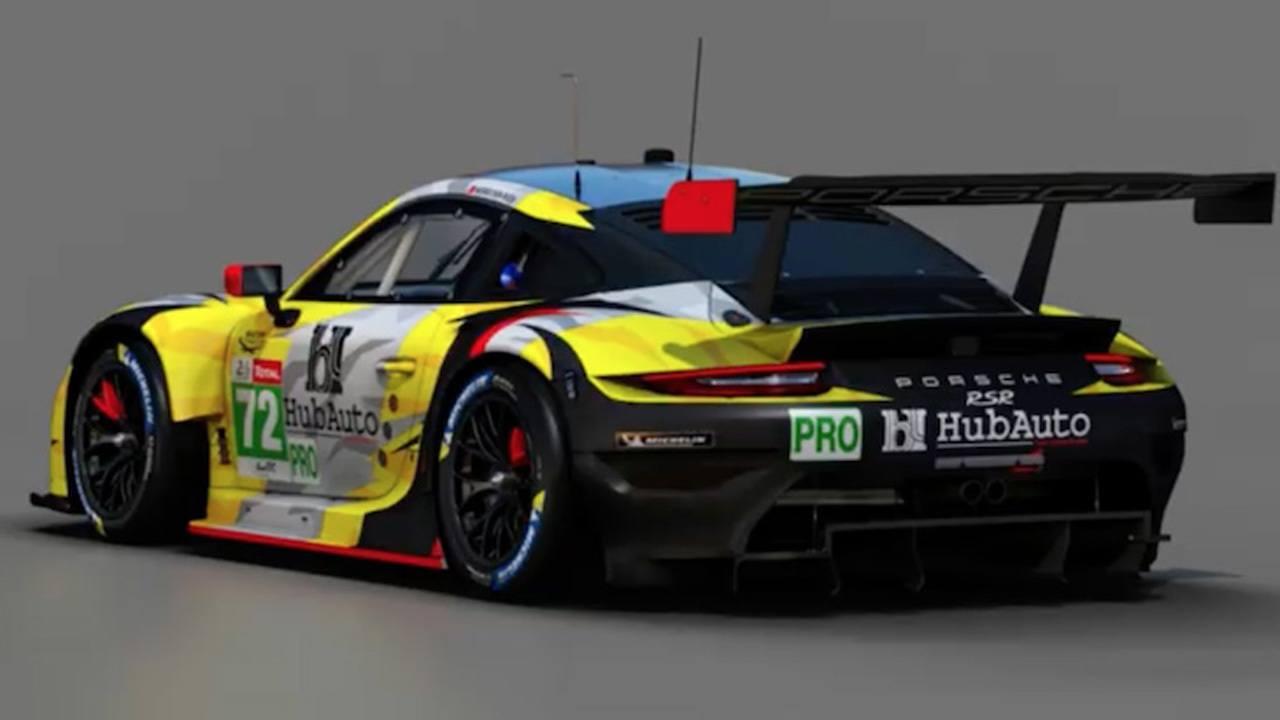 HubAuto Corsa define su alineación para la clase LMGTE-Pro de Le Mans