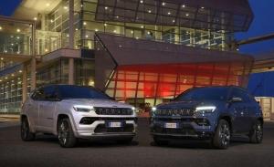 Italia -  Mayo 2021: El Jeep Compass pone rumbo al éxito